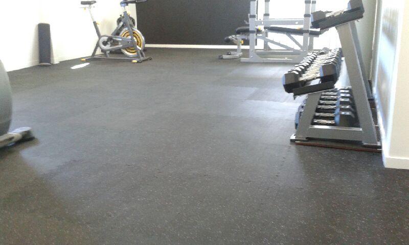 Gym Flooring Rubber Top